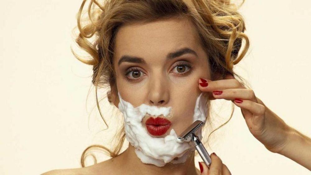 Фото: Раздражение после бритья