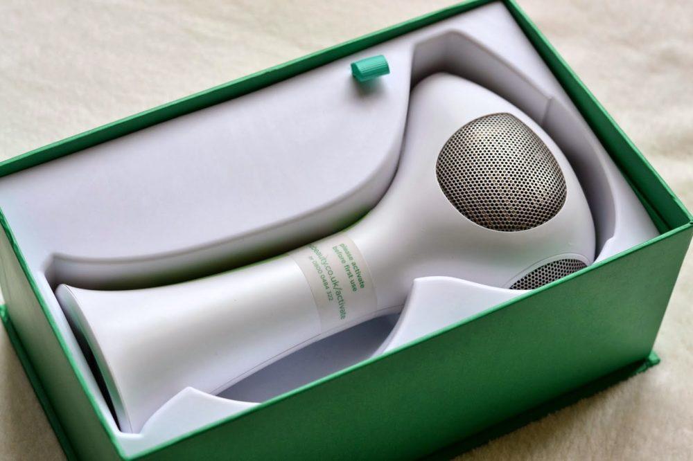 Фото: лазерный эпилятор для домашнего использования