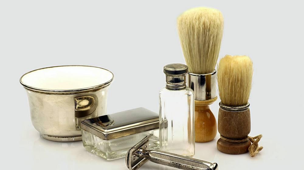Фото: Помазок для классического бритья