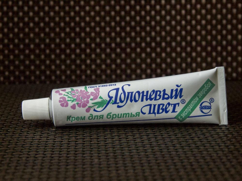 Фото: Крем для бритья «Яблоневый цвет» от марки Свобода