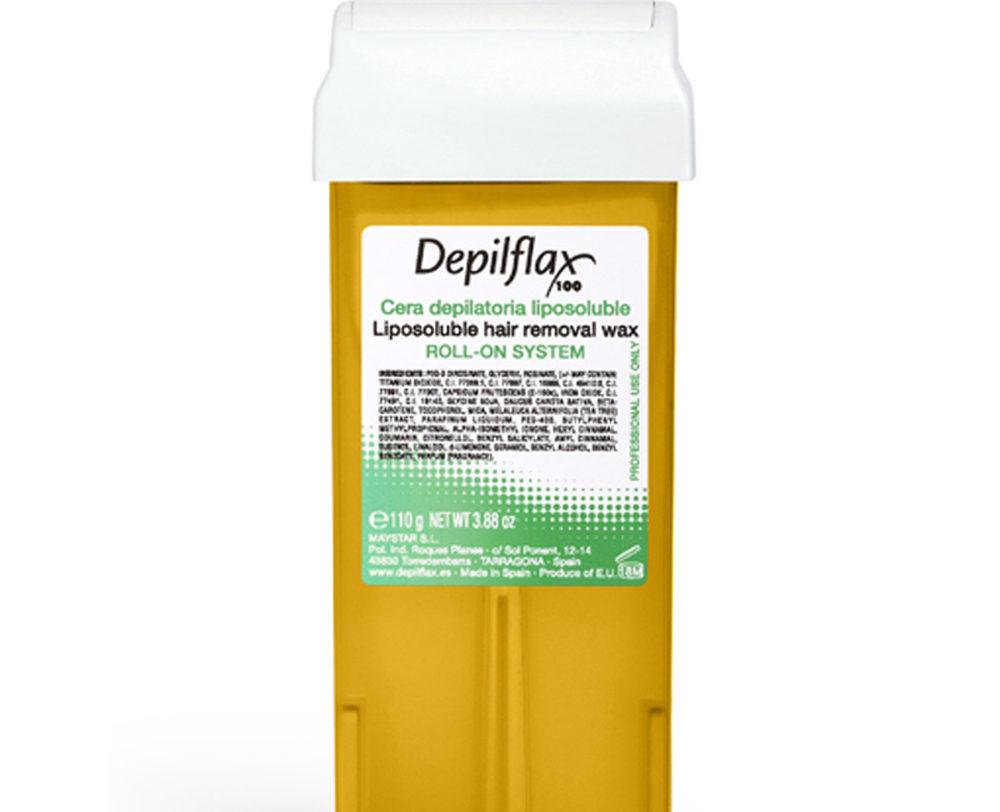Фото: Воск для всех типов волос Depilflax Premium Золотой