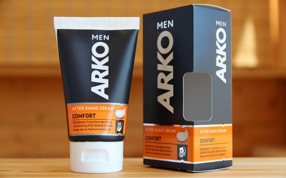 Фото: Крем после бритья Arko For Men Comfort