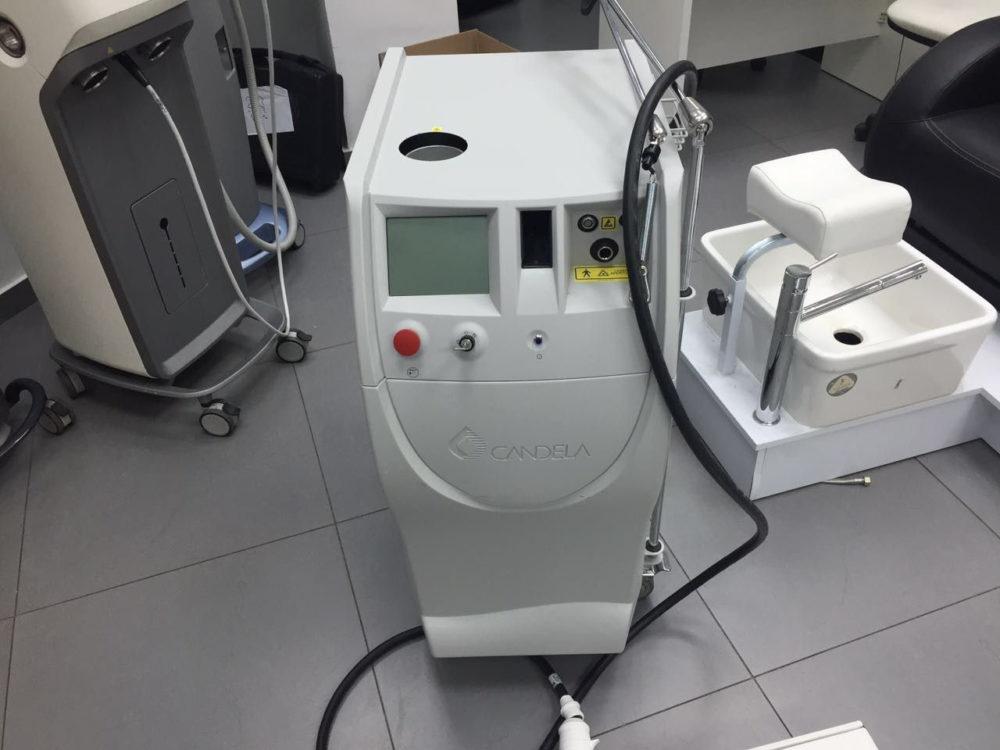 Фото: Аппарат CANDELA для лазерной эпиляции