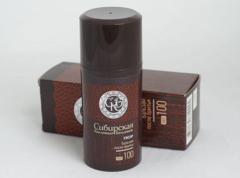 Фото: Бальзам после бритья для чувствительной кожи «Сибирская коллекция бальзамов ГЭСЭР»