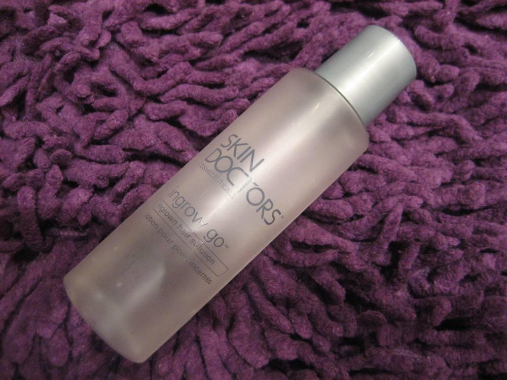 Фото: Лосьон против роста волос Ingrow Go от компании Skin Doctors
